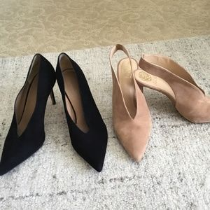Vince and Vince Camuto Suede Shoes